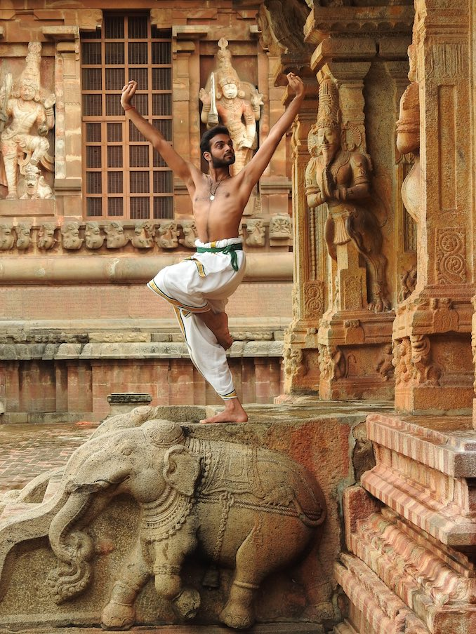 Bhavajan Kumar - A photo from Brihadeeshwara temple in Thanjavur. A 2000 year old temple in India