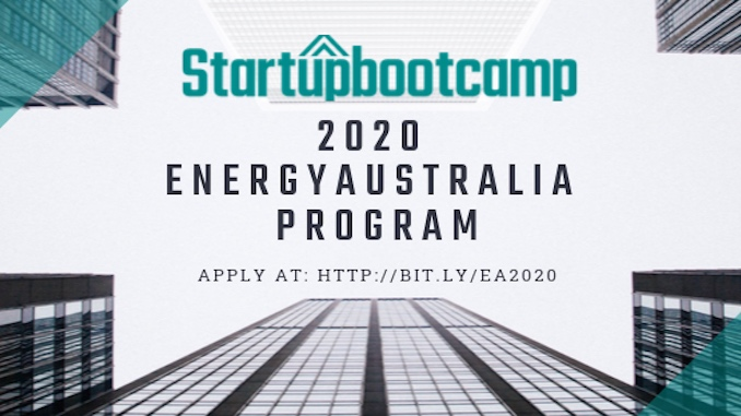 Startupbootcamp Australia Continues to Scout for 2020 Smart Energy Program