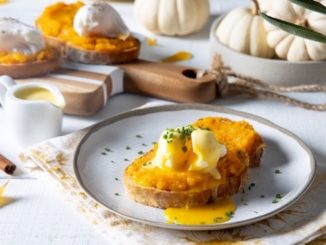 Poached Egg Maple Roasted Squash