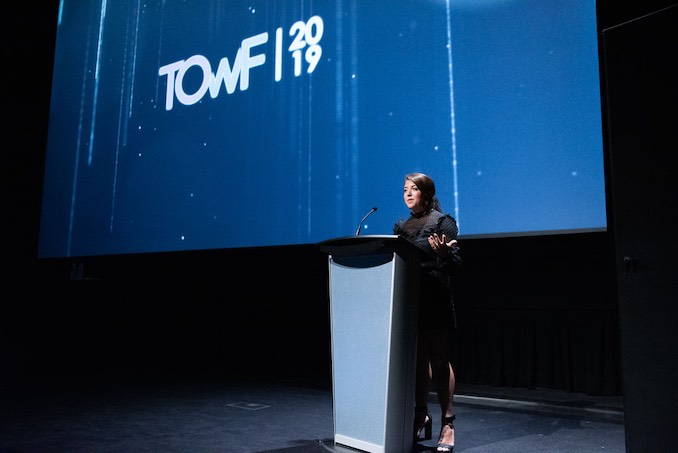 Mariah Owen - Executive Producer and Director of Industry Programming at T.O. Webfest 2019 held at the TIFF BELL LIGHTBOX (July 2019)