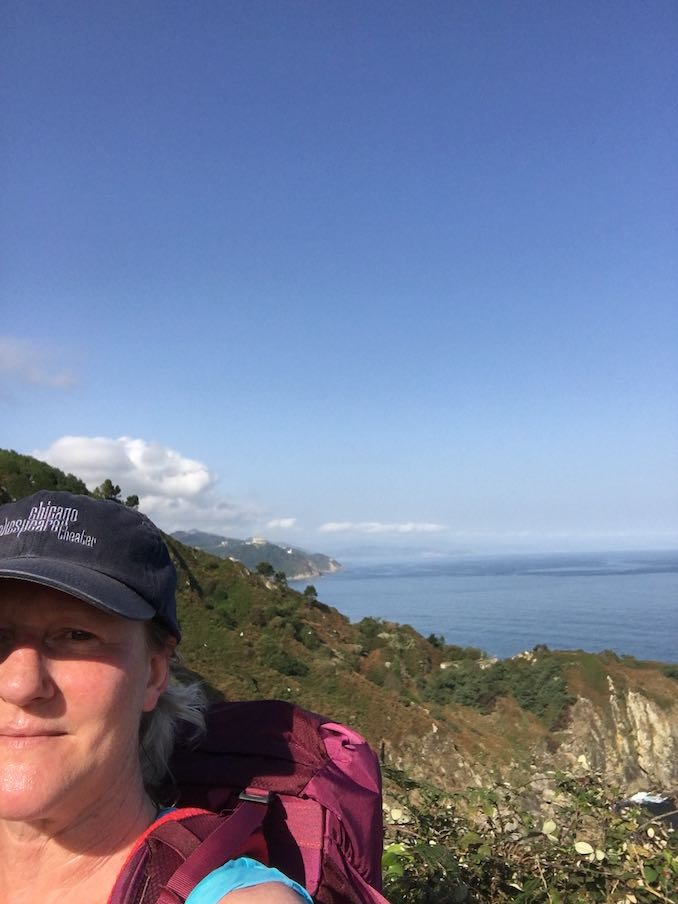 In my happy place. This was taken on my last long walk through Spain on the Camino del Norte. I think this was day 3 or 4 of a 20 day hike through Basque and Asturias in northern Spain.