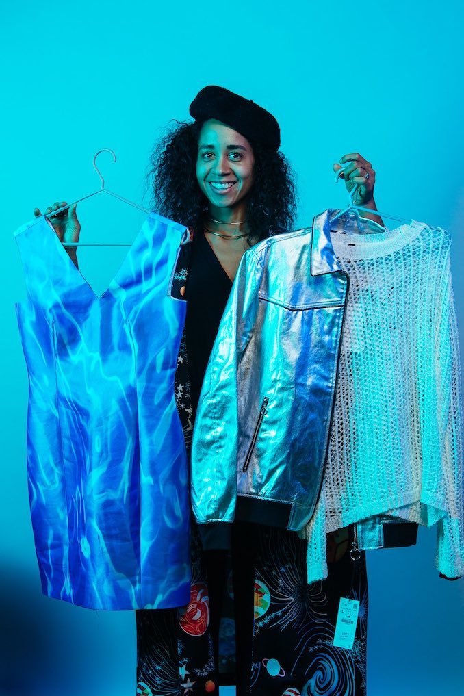 Vanessa Magic - This is me colour testing wardrobe for the 2019/2020 Buddies in Bad Times Brochure. Photo: Tanja-Tiziana