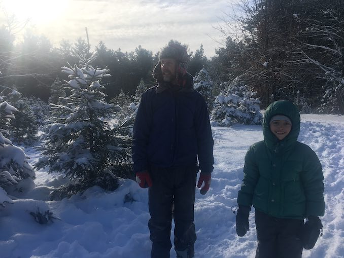 Vladimir Jon Cubrt - There's nothing fun or funny about Christmas Tree Hunting, despite what my daughter thinks.