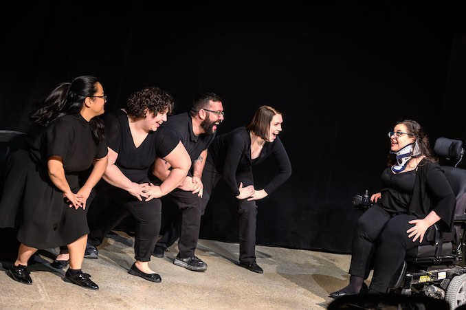 Ophira Calof - The wondrous Generally Hospital ensemble, performing at Toronto Sketchfest! We weren't having any fun at all.