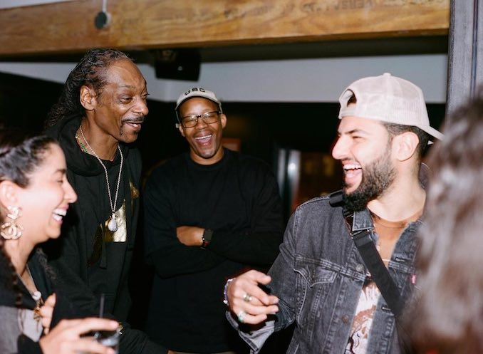 "Patrick Marzouk - ""Sharing a laugh with Snoop Dogg"""
