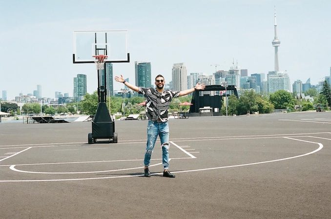 "Patrick Marzouk - ""My two obsessions - Toronto and basketball!"""