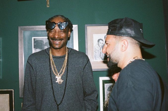 "Patrick Marzouk - ""Having a good laugh and hosting the legend himself, Snoop Dogg"""