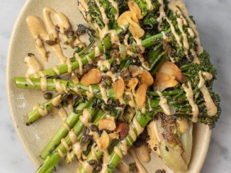 Tijuana-style Grilled Broccolini Caesar Recipe