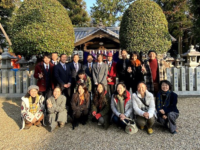 Masa Ogawa - The New Year's day of 2020 at the shrine where YAMATO was born in 1993