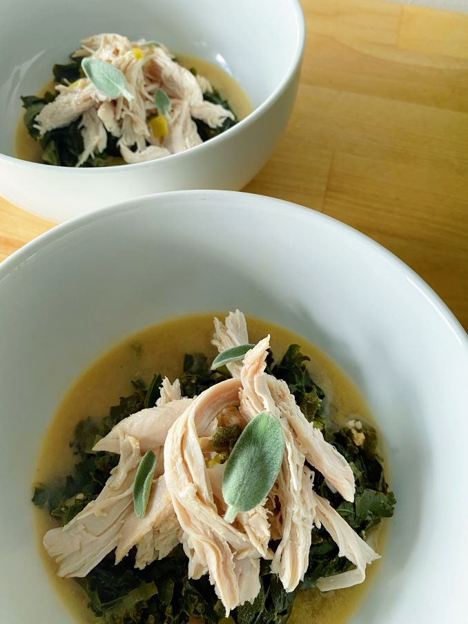 Miso Braised Turkey
