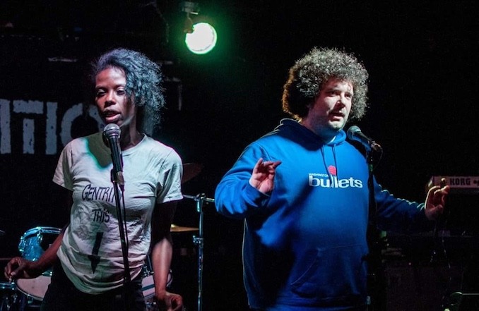 Definition of Knowledge Comedy Duo release first album Gentrify This