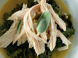Braised Turkey with Kale