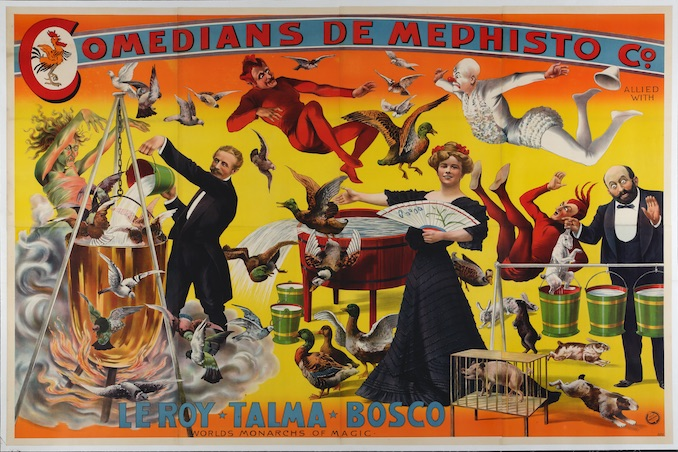 Illusions: The Art of Magic in the Golden Age now at the AGO