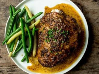 Joyce Lee's Coffee Rubbed Turkey Thighs