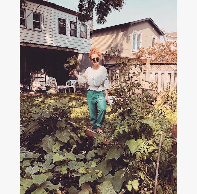 My pride & joy, my garden! Forever romancing my veggies...