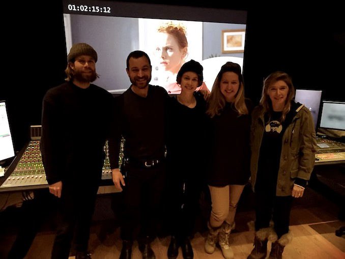 Pictured here (with director Simone Stock, and composers Jason Couse and Suad Bushnaq) after we wrapped the sound mix on a short film that I wrote while at the CFC. I'm continually awestruck by the number of brains and hearts that feed into the creative process of putting stories on screen - it truly takes a village.