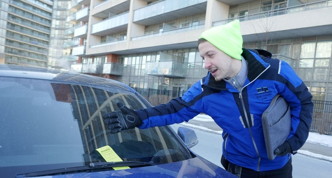 Finding parking is hard for Toronto condo inspectors