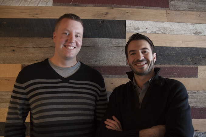 Founders of GoJavaGrocery, Eugene and Evan