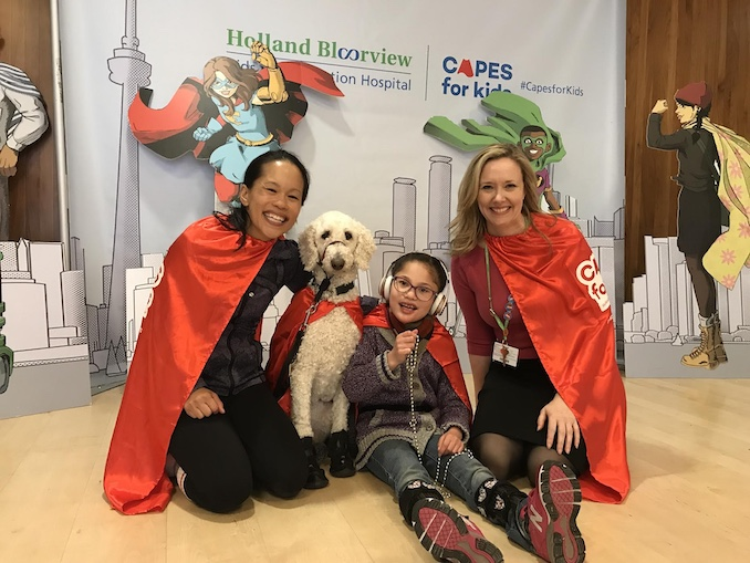 capes for kids holland bloorview