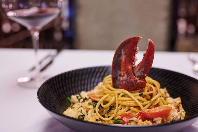 Astakomakaronada Lobster Pasta