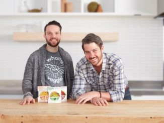 Wholly Veggie Co-founders Johnathan Bonnell (left) and David Gaucher(right)