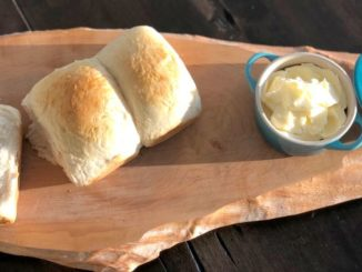 Milk Bread with Honey Butter