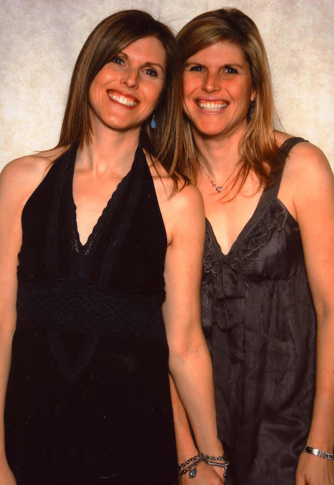 This is me with my identical twin Linda who passed away from leukaemia but will always be my soulmate