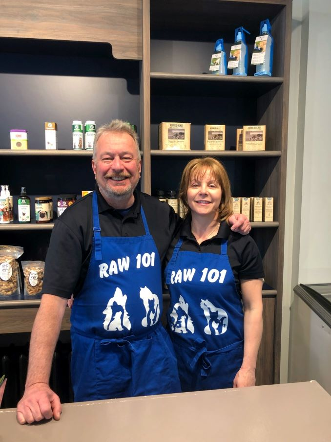 Tony & Lucy, owners of RawTony & Lucy, owners of Raw