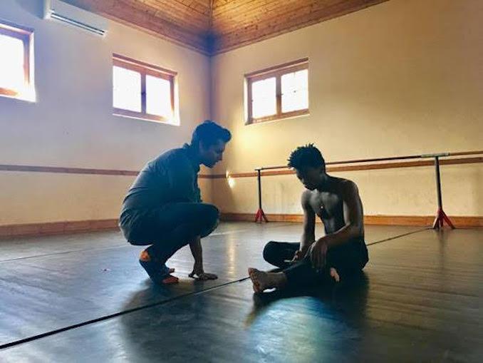 Vikram Dasgupta - Beyond Moving Documentary - Vikram Dasgupta and Siphe November, Zolani, South Africa