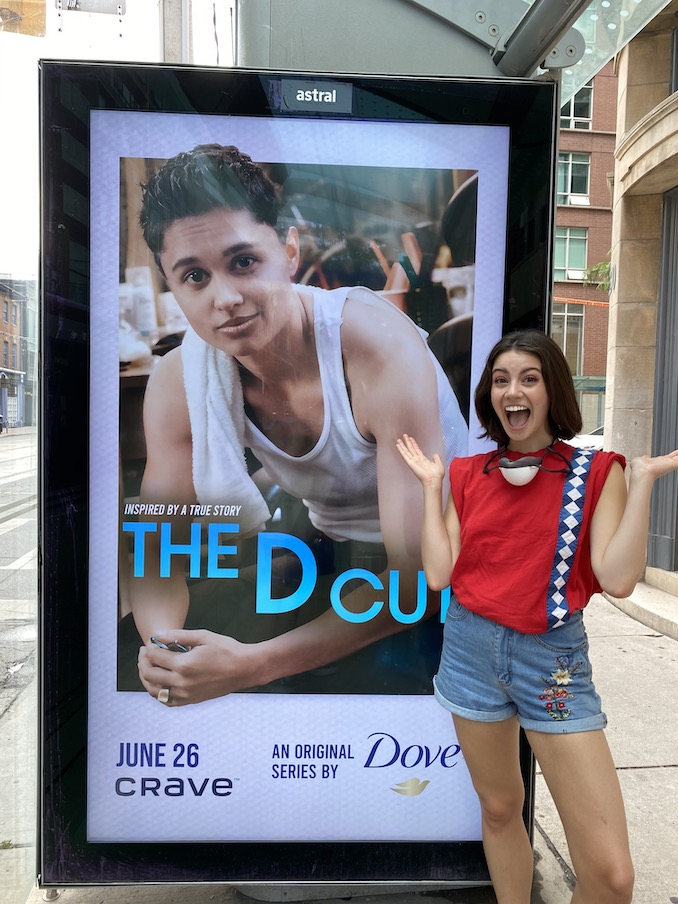 """It's surreal to see The D Cut posters everywhere in Toronto!"""