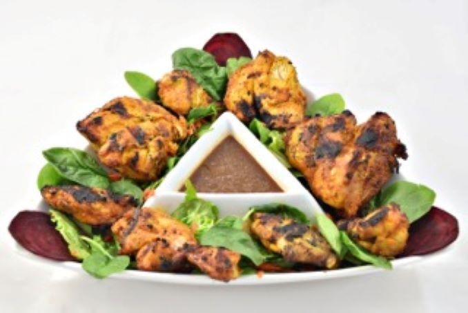 Chicken Tikka and Amblee Chutney from Jasmine Daya