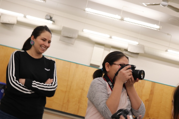 Working with Youth in Aklavik, NT (2020)