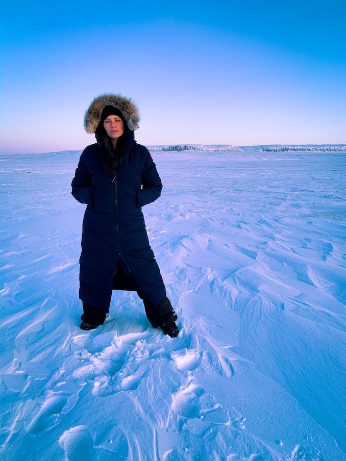 Stop over in Ulukhaktok, while on tour with Influencers Motivating Influencers (MotiV8 Canada) in The Northwest Territories. (2020)