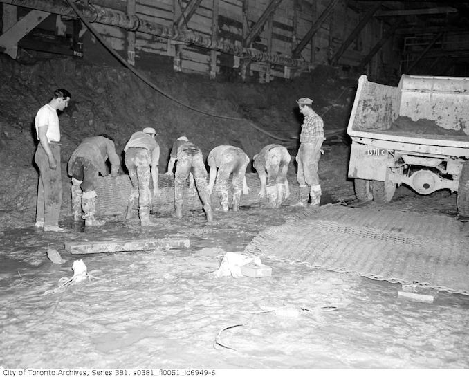 1950-June 2-Underground excavation and construction