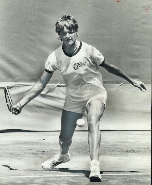 1975 - Margaret Court, 32-year-old Australian housewife, is one of the world's tennis greats