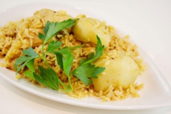 Chicken Rice Pilau