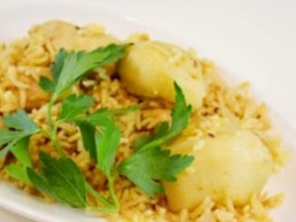 Chicken Rice Pilau