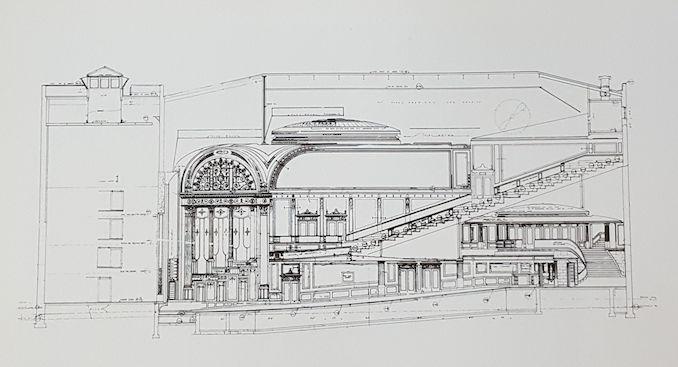 1919 - Pantages Thomas Lamb original drawing