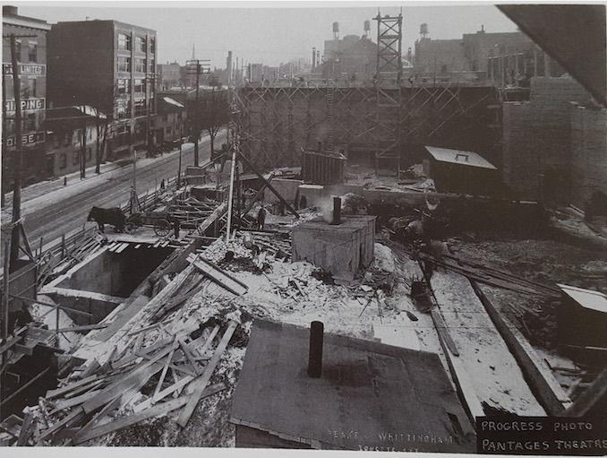 1919 - Pantages construction