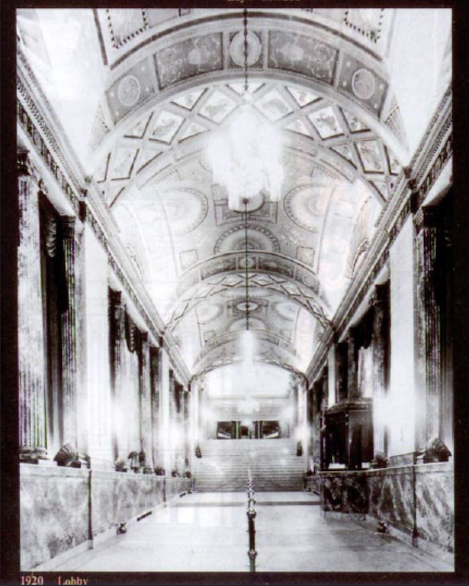1920 - Pantages Yonge St lobby entrance