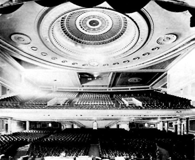 1920 - Pantages auditorium interior