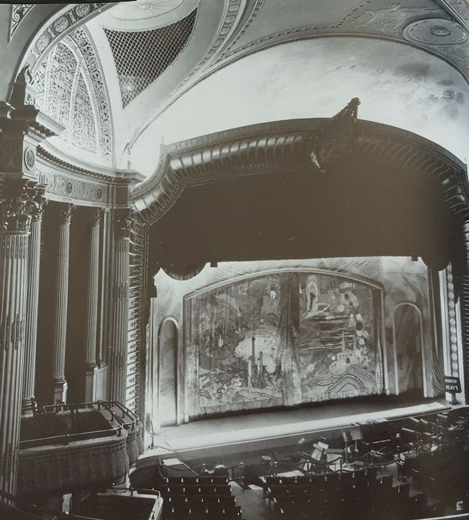 1920 - Pantages handpainted stage
