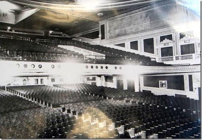 1920 - Pantages orchestra interior auditorium