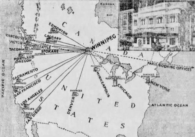 1920 - Pantages vaudeville circuit