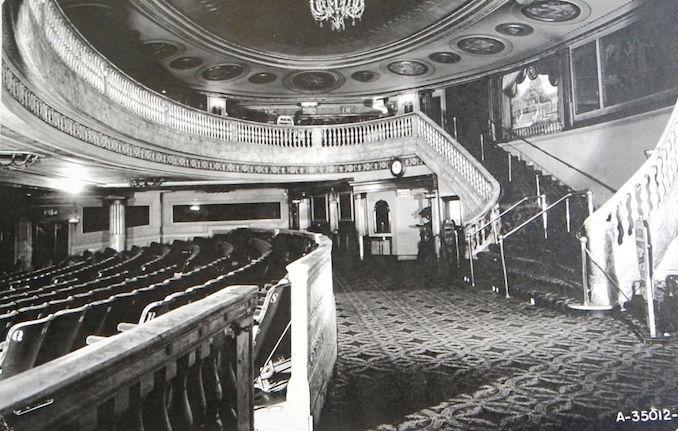 1930 - Imperial rear auditorium interior