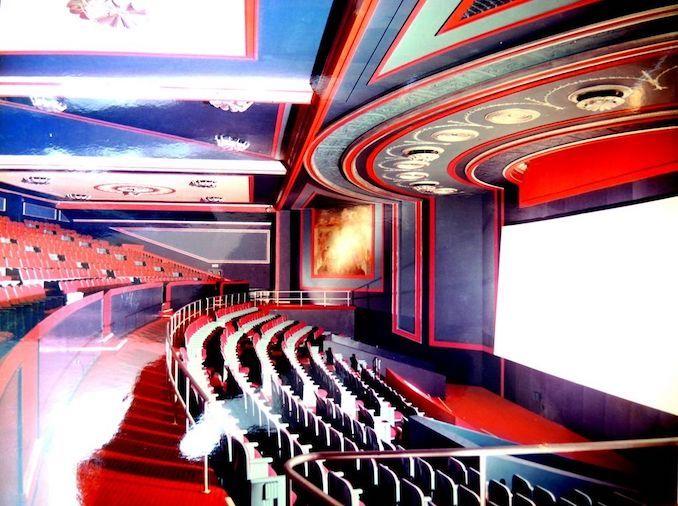 1972 - Imperial Six balcony interior