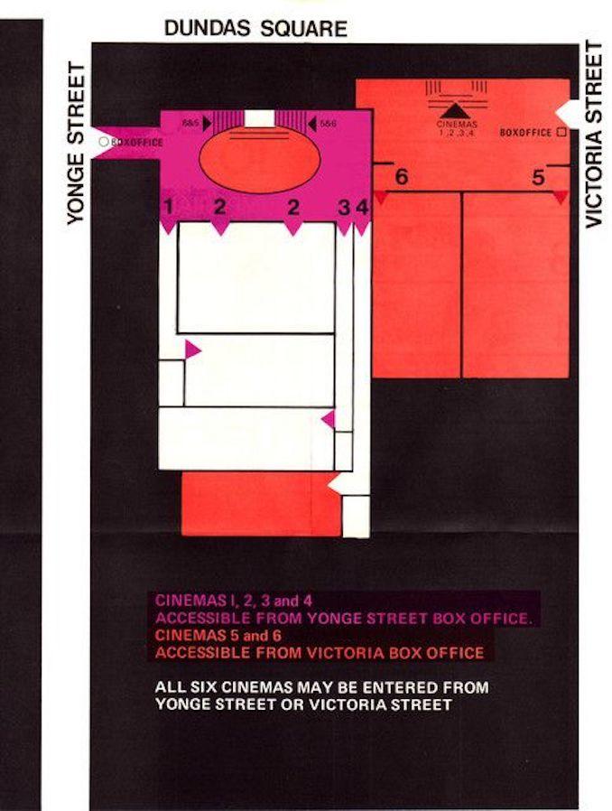 1972 - Imperial Six floorplan Screens 1-6
