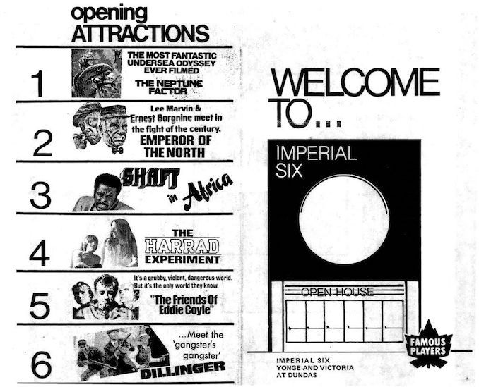 1973 - Imperial Six Opening