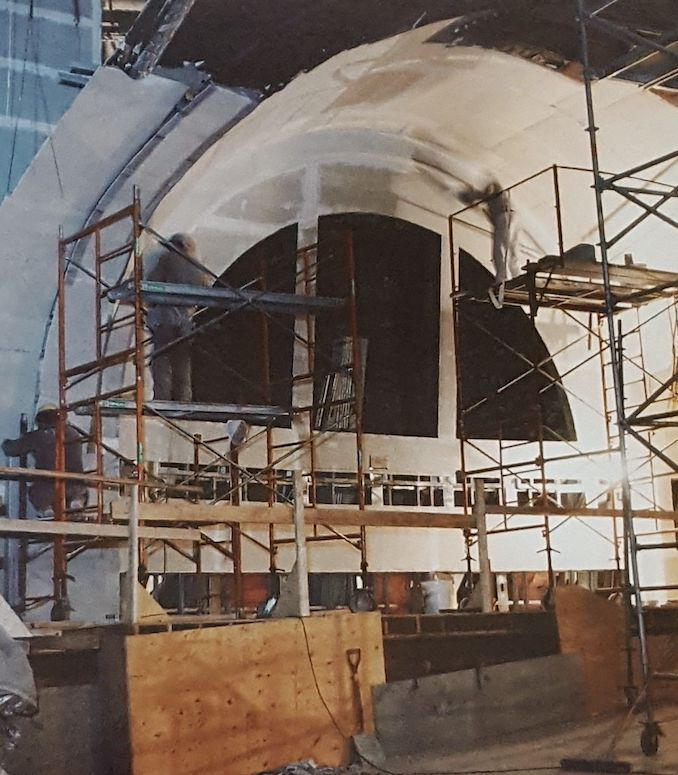 1988 - Restoration reconstruction