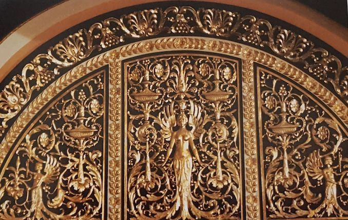 1988 - restoration plaster ornamentation